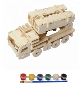 Original Hobby Wood Craft 3D Puzzle (Missile Truck)