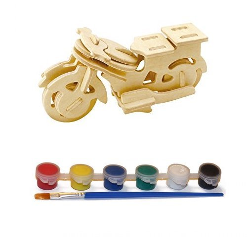 Original Hobby Wood Craft 3D Puzzle (Motorcycle)