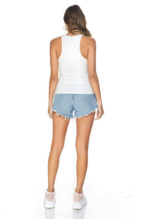 BASIC TANK - White Tops SOFIA
