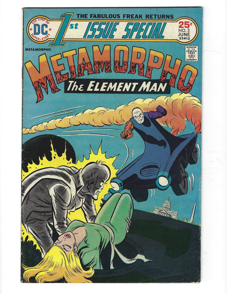 1st Issue Special #3 Metamorpho! Bronze Age VG