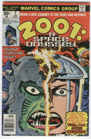 2001: A Space Odyssey #2 Vira The She Demon Jack Kirby Bronze Age Classic VG+