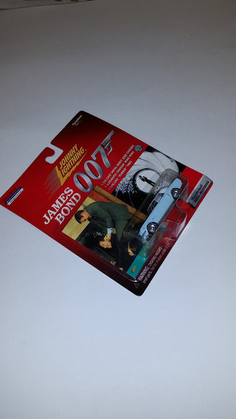 Johnny Lightning James Bond Thunderball Ford Mustang Die-Cast 1999 Playing Mantis Sealed On Card New!