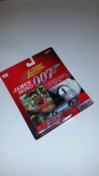 Johnny Lightning James Bond 007 A View To A Kill 1985 Corvette Die-Cast Playing Mantis 1999 Sealed New On Card