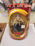 Lord Of The Rings The Two Towers Smeagol Toy Biz Electronic Action Figure Sealed On Card New