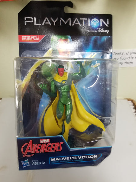Marvel Avengers The Vision Action Figure Playmation Disney Sealed On Card