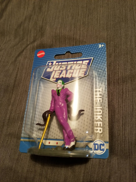 Justice League Joker Figure 3 inch Mattel Sealed New