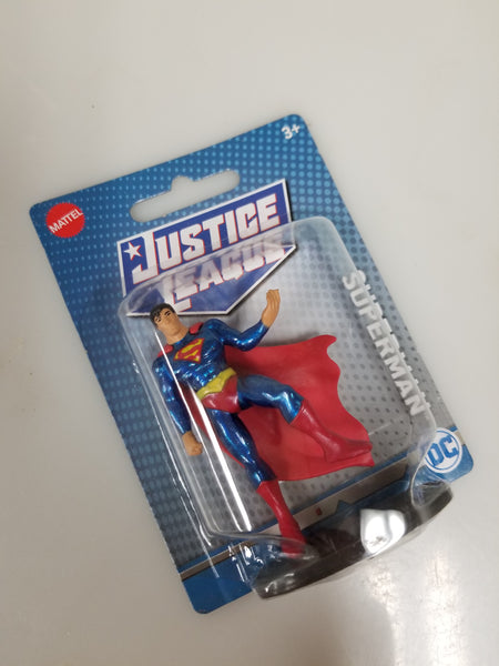 Justice League Superman 3 Inch Figure Mattel 2019 Sealed On Card New