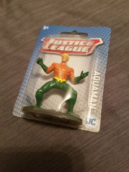 Justice League Aquaman 3 inch Figure Mattel 2019 Sealed on Card