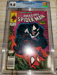Amazing Spider-Man #316 Venom Is Back! News Stand Variant CGC Graded 9.0 VFNM