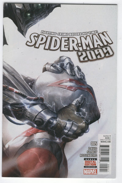 Spider-Man 2099 #5 Fighting Crime Before His Time VF