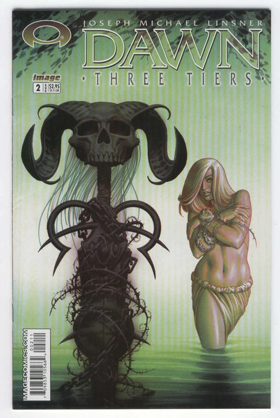 Dawn Three Tiers #2 Linsner Art 2003 VF