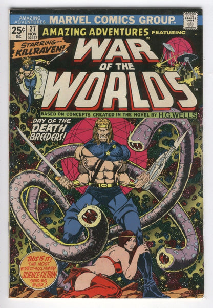 Amazing Adventures #27 Day Of The Death Breeders Bronze Age Starlin Art FN