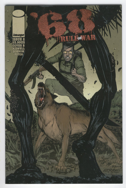 '68 Rule Of War #2 Cover B 2014 Mature Readers FVF