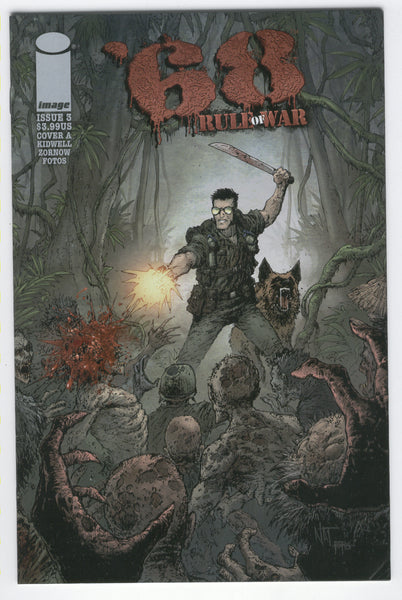 '68 Rule Of War #3 Cover A FVF Mature Readers