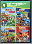 WB Kids Favorites: A Pup Named Scooby-Doo, Vol.1-4 DVDs, new, sealed