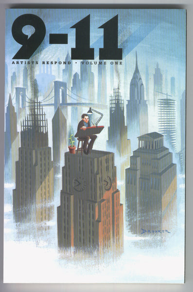 9-11 The Artists Respond Volume 1 & 2 Tribute Graphic Novel NM