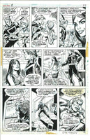 Ghost Rider #4 Pg 22 Original Artwork Jim Mooney Vince Colletta Bronze Age HTF!