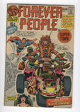 Forever People #1 Featuring Superman Darkseid Jack Kirby Key Late Silver Age Fine