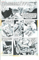 Ghost Rider #4 Page 30 Bronze Age Jim Mooney Original Art