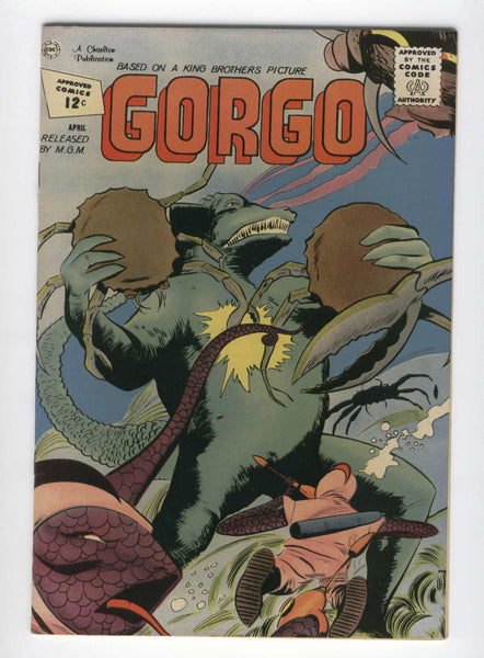 Charlton Gorgo #6 Early Silver Age Horror Fine