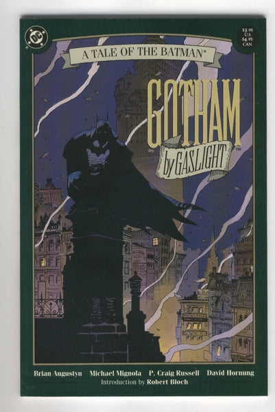 Gotham by Gaslight a Tale of the Batman early Mignola art VFNM condition