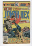 Weird Western Tales #34 Jonah Hex Death Of A Bounty Hunter Bronze Age Classic VG