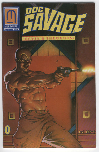 Doc Savage Devil's Thoughts #1 Millenium Comics HTF Indy FVF