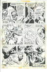 Ghost Rider #7 Page 23 Bronze Age Jim Mooney Original Art