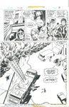 Ghost Rider Bronze Age Original Art #14 Page 3 Tuska Art Johnny Blaze