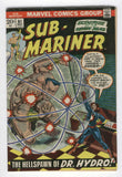 Sub-Mariner #61 The Hellspawn Of Dr. Hydro Bronze Age Classic Everett Art VGFNF