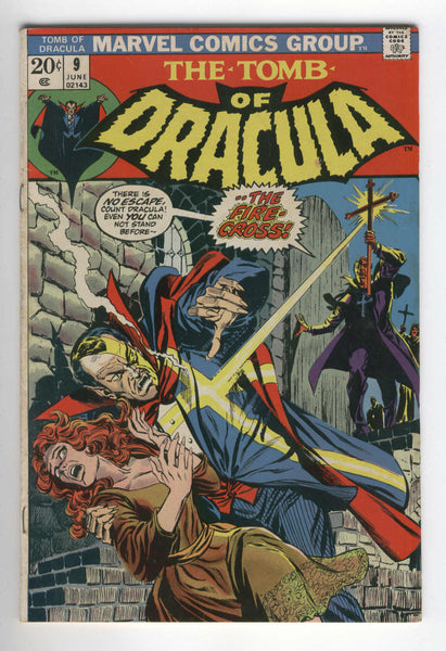 Tomb Of Dracula #9 There Is No Escape Bronze Age Classic Colan Art VG+