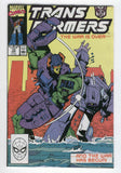 Transformers #72 The War Has Begun HTF Later Issue Original Series FN