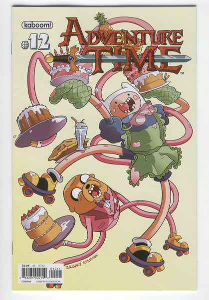 Adventure Time #12 Cover B Kaboom 2013 VF
