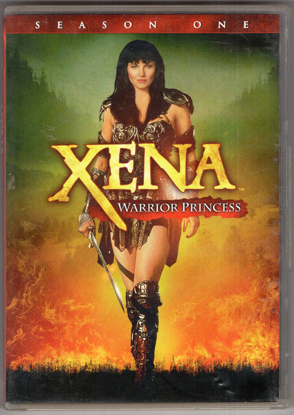 Xena Warrior Princess, Season One DVDs, preowned