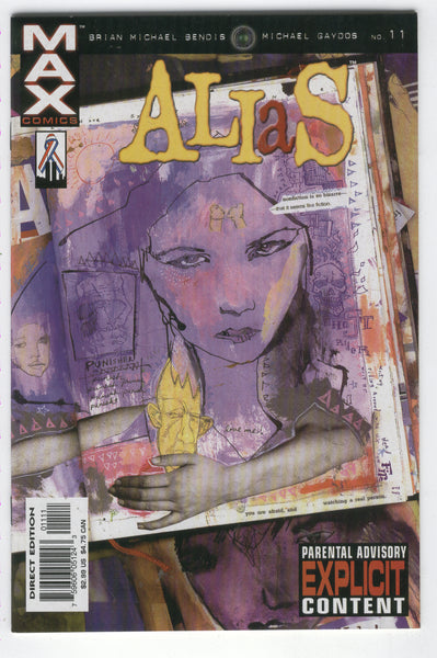 Alias #11 Jessica Jones There Ain't No Love... Mature Readers VF