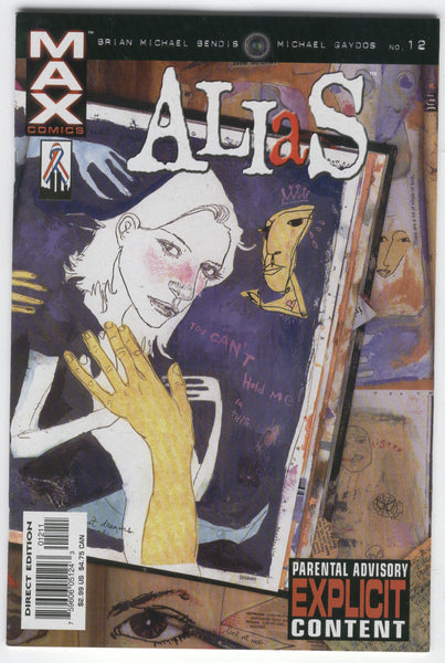 Alias #12 Jessica Jones Totally A Mutant... Mature Readers VF