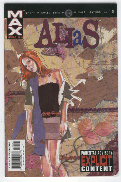 Alias #15 Luke Cage, Hero For Hire Mature Readers FVF