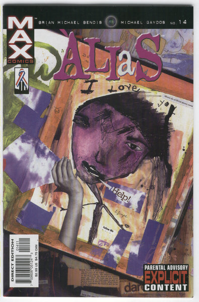 Alias #14 Jessica Jones That Was Awesome! Bendis Mature Readers VF