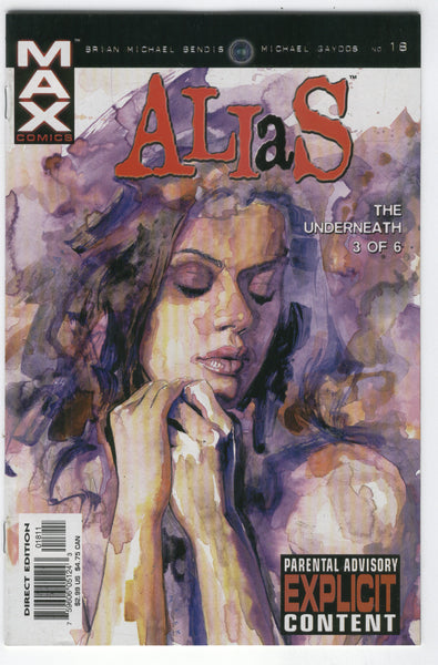 Alias #18 Jessica Jones Bendis Mature Readers VFNM