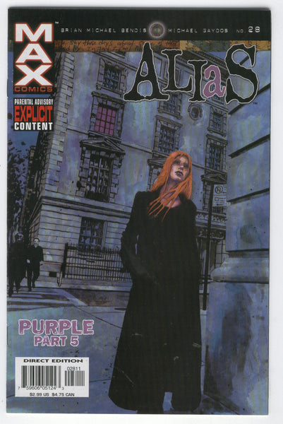 Alias #28 The Purple Man :( Mature Readers FVF