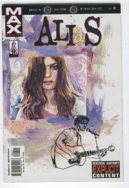 Alias #8 Jessica Jones Bendis Mature Readers VF