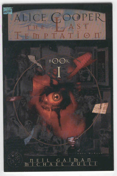 Alice Cooper The Last Temptation Book 1 Neil Gaiman HTF VF