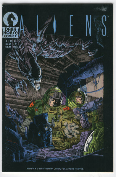 Aliens #1 1988 Dark Horse Mini-Series VF