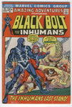 Amazing Adventures #10 Black Bolt And The Inhumans! Bronze Age Classic VG+