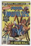 Amazing Adventures #37 Killraven War Of The Worlds Arena Kill Bronze Age Sci-Fi classic FN