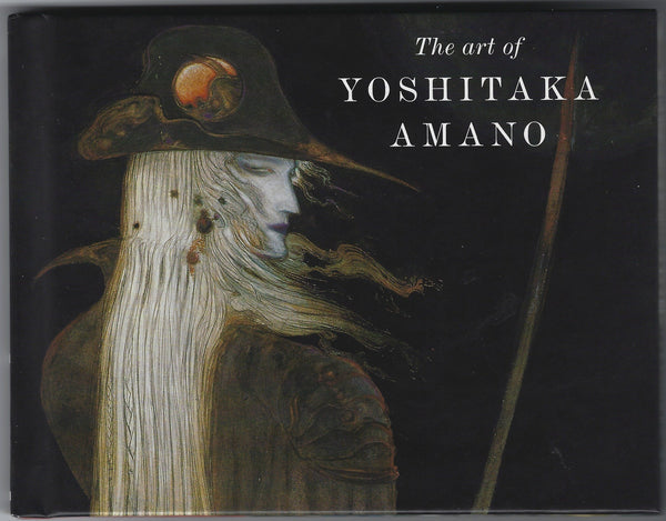 The Art Of Yoshitaka Amano Hardcover Dark Horse Loot Crate Exclusive VFNM