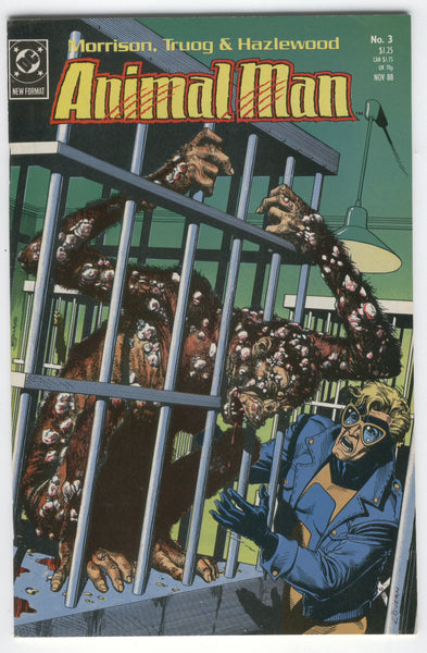 Animal Man #3 The Nature Of The Beast VF