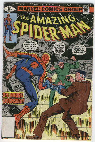 Amazing Spider-Man #192 24 Hours To Doomsday Bronze Age VG