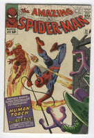 Amazing Spider-Man #21 The Human Torch & The Beetle (oh my!) Ditko Silver Age Classic VG