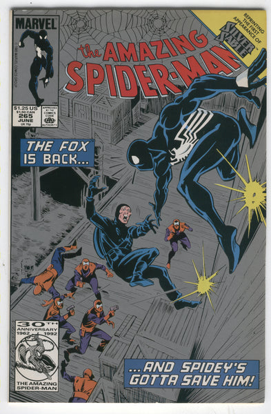 Amazing Spider-Man #265 2nd Print silver Cover Variant First Silver Sable VF